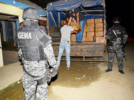 """7 detenidos por la """"coca-banana"""""""