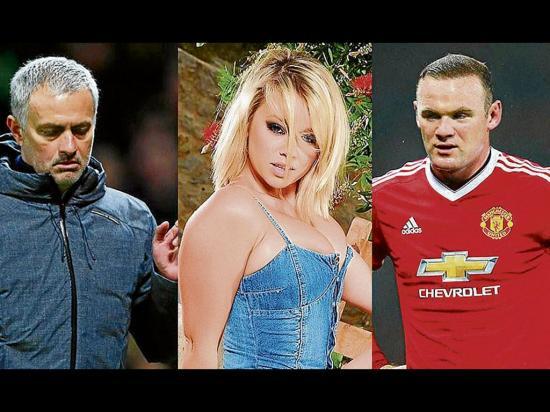 Melissa Debling reclama a José Mourinho por el jugador Wayne Rooney