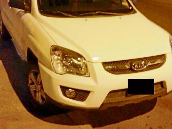 Recuperan auto robado en Manta