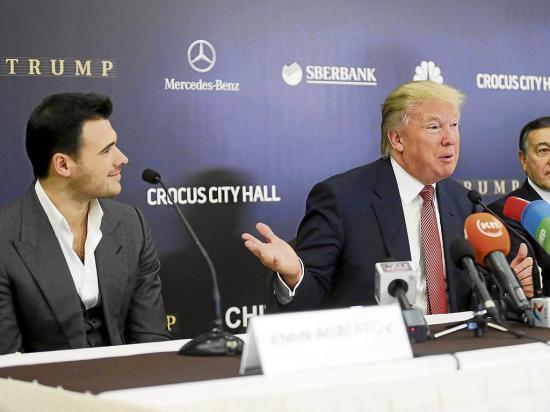 Trump defiende a su hijo mayor