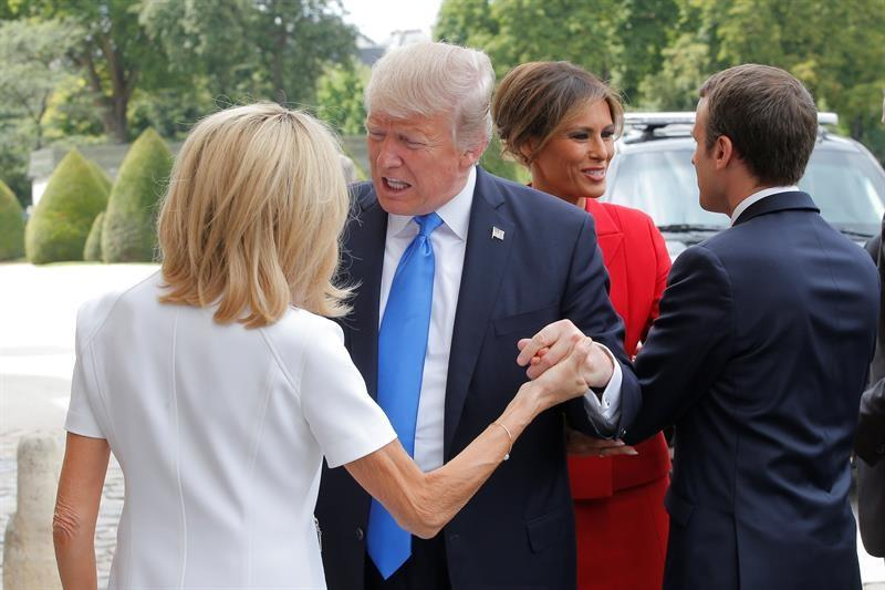 Macron defiende Acuerdo de París pero respeta la retirada de Trump — Francia