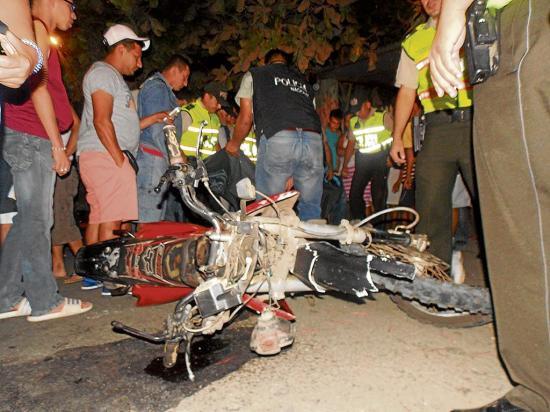 Futbolista muere en un  choque en la vía Portoviejo-Santa Ana