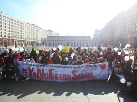Protestan contra los abusos y negligencias en centros de menores