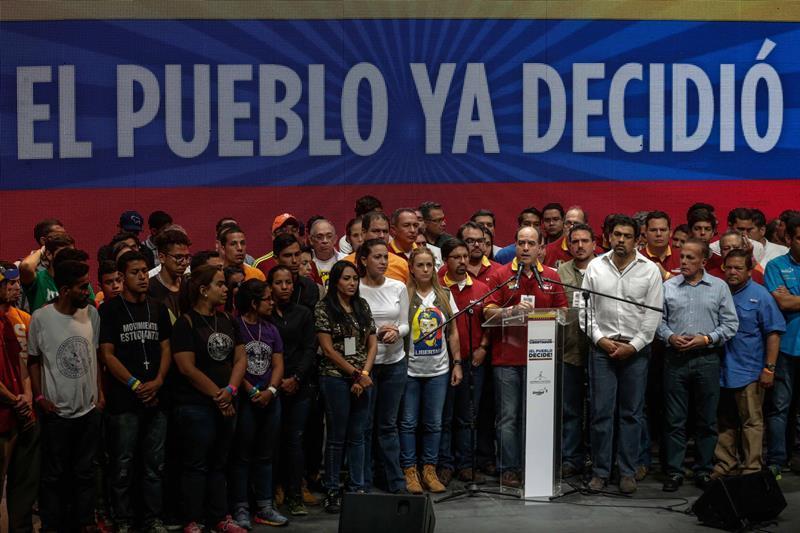 Un 98% de votantes en consulta opositora rechazó la constituyente de Maduro