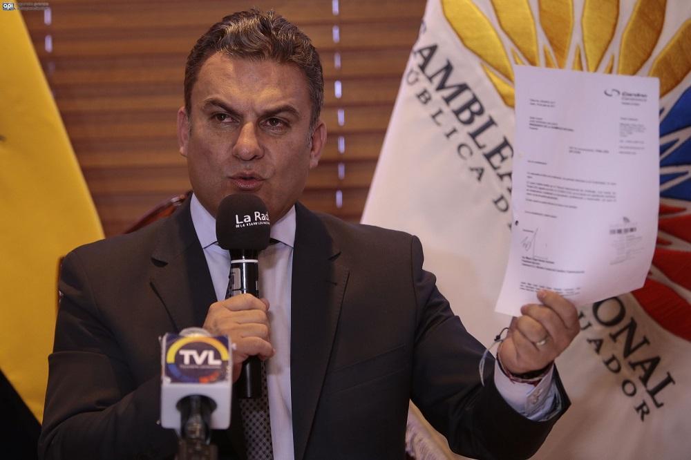 El CAL archiva pedido de juicio político contra el vicepresidente Jorge Glas