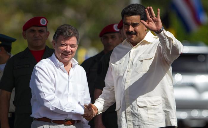 Maduro tilda a Santos de traidor y lo acusa de haber 'destrozado' Colombia