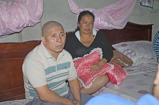 Papá hasta el final: Ángel perdió a su hija a causa de la leucemia