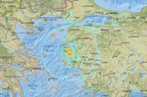 El sismo de 6,7 grados en la costa de Turquía no causa grandes daños