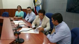 Firman contrato para regenerar las avenidas 4 de Noviembre y 113 de Manta
