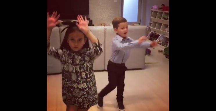 Los nietos de Donald Trump sorprenden al bailar 'Despacito'