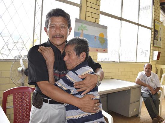 Mauro encontró a su padre tras 56 años