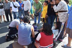 Al menos cinco personas resultaron heridas en accidente de tránsito en la vía Manabí-Guayas