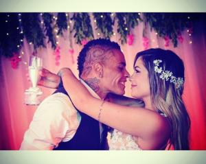 Jonathan Álvez y Priscila Madera contrajeron matrimonio [FOTOS]