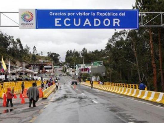 Más venezolanos huyen de su país y entran a Ecuador
