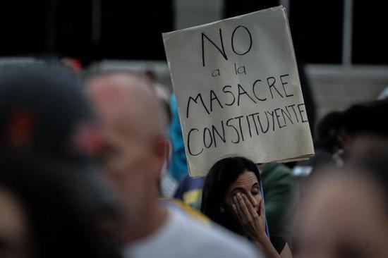 Empresa que hizo recuento de votos en Venezuela denuncia 'manipulación'