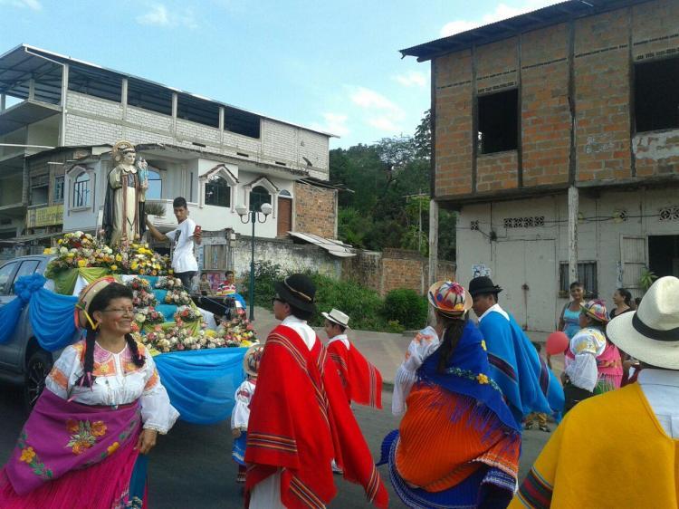 Un pregón marcó el inicio de las fiestas patronales de San Jacinto, en Paján
