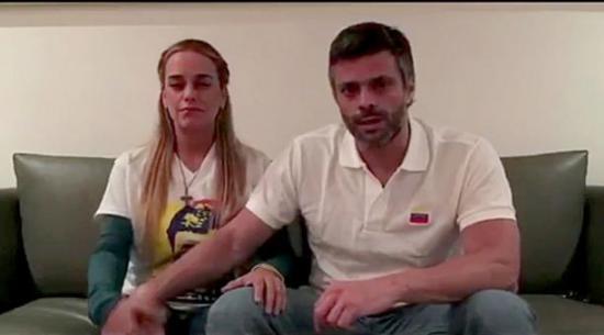 Leopoldo López es devuelto a su residencia bajo arresto domiciliario
