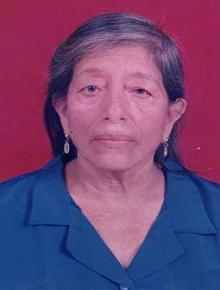 Misa Rosa Georgina Quijije Laz