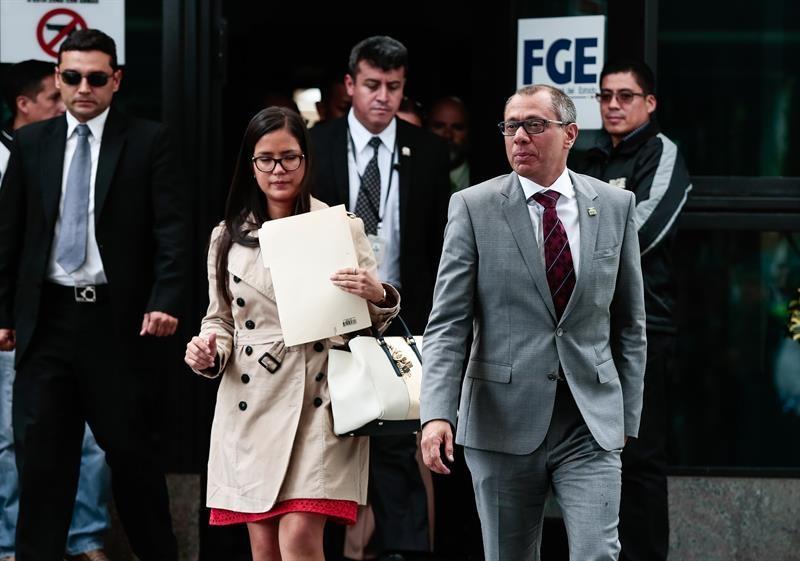 Vicepresidente Jorge Glas teme persecución política en denuncias de corrupción