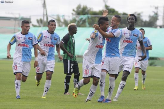 El Manta FC vence por 3-1 a Liga de Loja en el Jocay