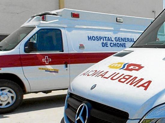 Accidentes de tránsito dejan tres personas  heridas en Chone