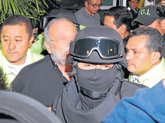 'Capaya' se entregó a la justicia ecuatoriana 'sin condicionamientos'