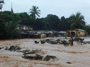 Más de 300 muertos y 600 heridos por lluvias e inundaciones en Sierra Leona