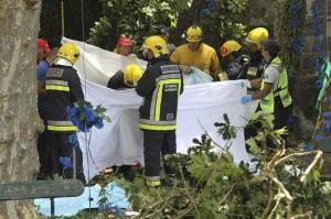 Doce muertos y 50 heridos tras caer un árbol durante una procesión en Portugal
