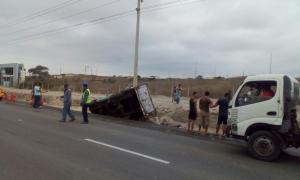 Seis heridos en diferentes accidentes de tránsito en Manta