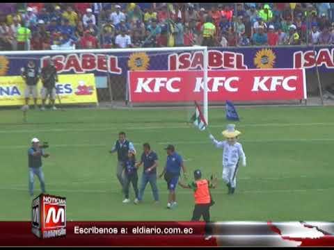 Dirigentes de Delfín preparan el estadio Jocay para partido del domingo