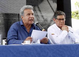 Lenín Moreno pone en duda la Refinería del Pacífico