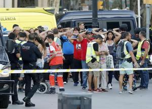 Un detenido por el atentado terrorista de Barcelona