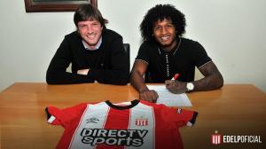 Christian Alemán firmó con Estudiantes de La Plata