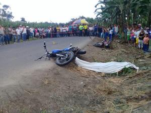 Un muerto y dos heridos en accidente de tránsito en La Manga del Cura
