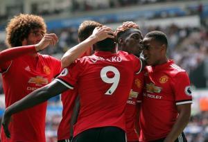 El United continúa su buen arranque de temporada con una goleada en Swansea