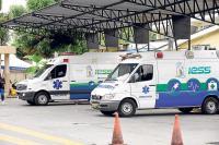 La provincia cuenta con 100 ambulancias