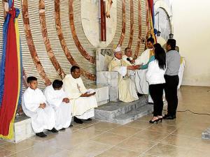 Reinauguran la iglesia Cristo del Consuelo y  piden donar bancas