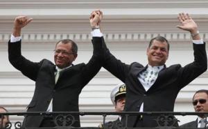 Rafael Correa defiende la gestión de Glas y califica de 'show' pedido de la Fiscalía