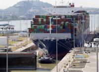 Buque de más 14.800 contenedores marca récord de tránsito en Canal de Panamá