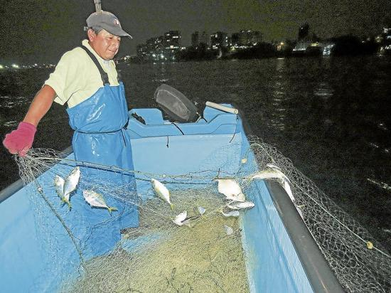 Una noche de pesca
