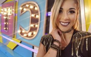 La actriz, modelo y presentadora de televisión Catherine Velasteguí está embarazada