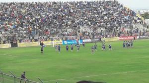 El estadio Jocay, suspendido por impacto a pasabolas