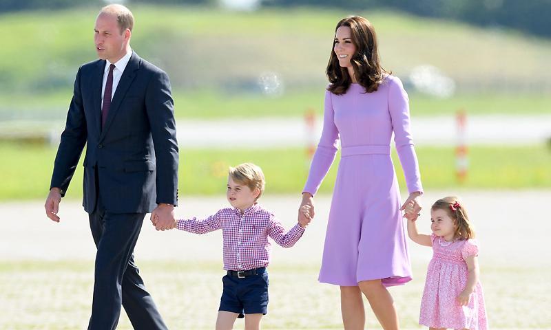 Los duques de Cambridge esperan su tercer hijo