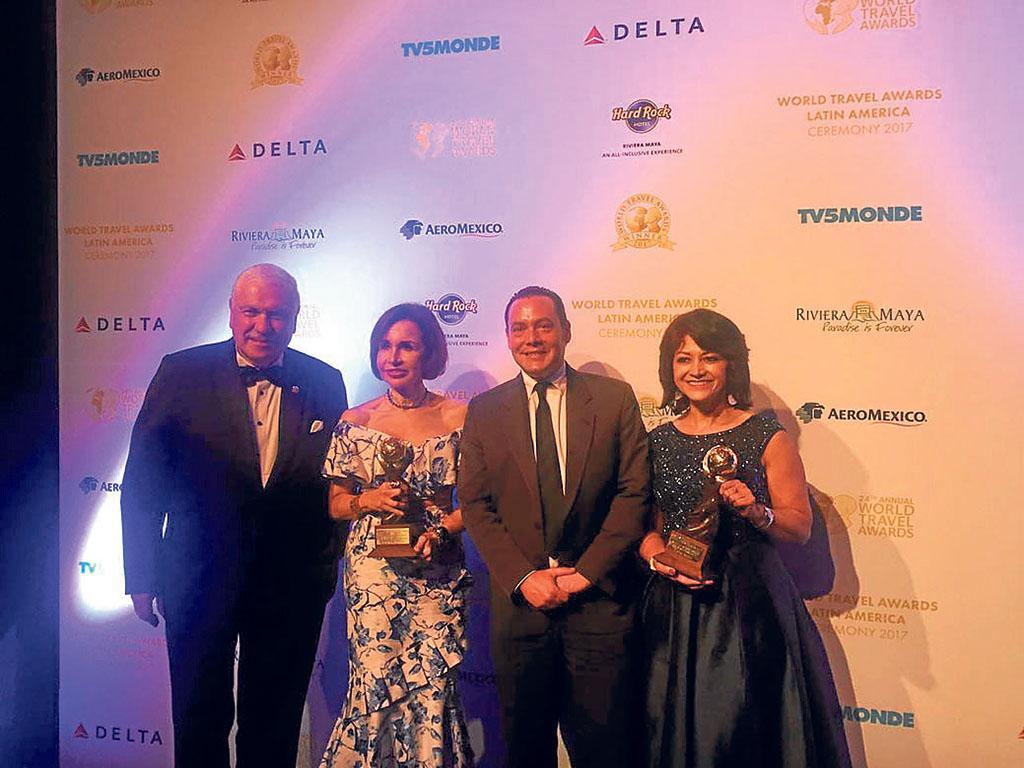 Ecuador arrasa en los 'Oscar' del Turismo