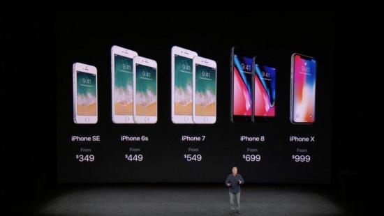 Apple presenta su iPhone X, sin marcos en la pantalla ni botón de inicio