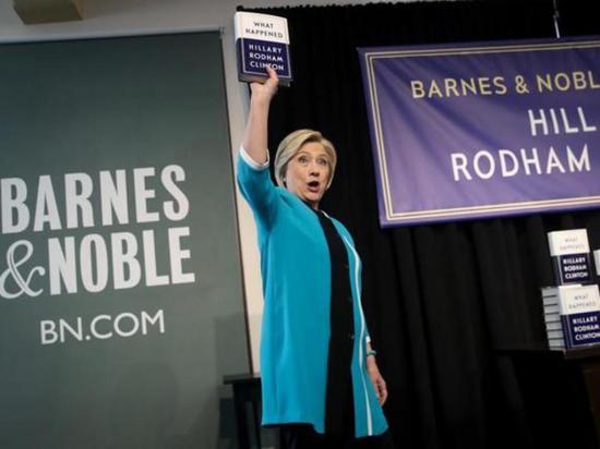 El libro de Hillary  revela datos de campaña
