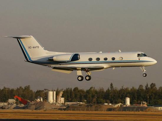 La aduana facilita un avión Gulfstream  para que la FAE vigile