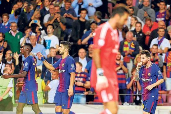 Leo Messi se saca la pica