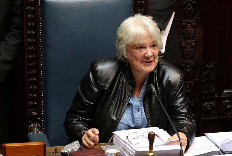 Lucía Topolansky, esposa de José Mujica, asume como vicepresidenta de Uruguay