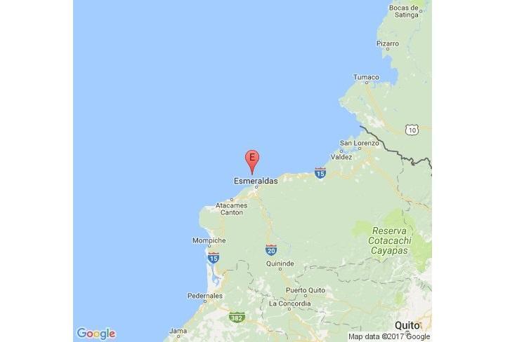 Suspendidas las actividades educativas en Esmeraldas tras sismo